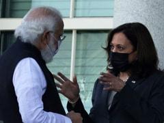 "In Meet With PM, Kamala Harris ""Suo Motu"" Refers To Pak Role In Terrorism"