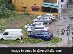 "Opposition Mocks Naveen Partnaik's Party After Heavy Rain Inundates ""Smart City"" Bhubaneswar"