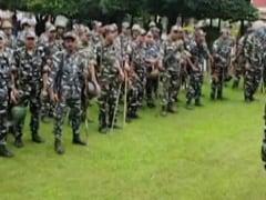 Ahead Of Farmers' Meet, Heavy Security In Haryana's Karnal