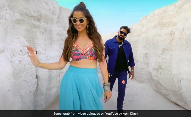 Pawan Singh's 'Current' song became a hit on YouTube, Power Star made a splash with South's actress - watch video