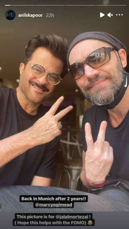 , Here's Why Anil Kapoor Couldn't Help But Dance In A Park In Munich,