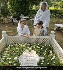 सोहा अली खान मॉम और बेटी के साथ पहुंचीं पिता की कब्र पर, बोलीं- आप हमारे लिए कभी मरे ही नहीं...