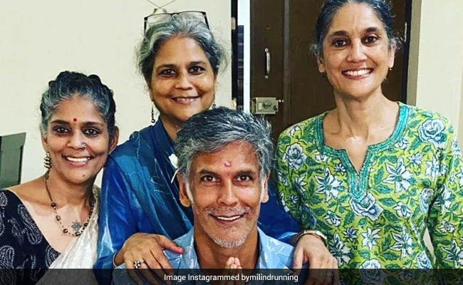 Meet Milind Soman's Sisters. See Pics From The 'Only Festival' He Celebrates
