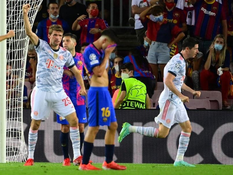 "UEFA Champions League: Bayern Munich Sent ""Important Signal"" In Barcelona Win, Says Thomas Mueller"