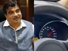 केंद्रीय मंत्री नितिन गडकरी ने किया दिल्ली-मुंबई एक्सप्रेसवे पर स्पीड टेस्ट