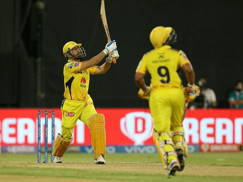 Watch: MS Dhoni Turns The Clock Back; Wins Match For CSK With A Six