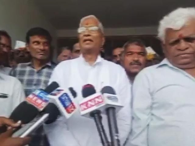 """Video : """"Was Offered Money To Join BJP"""" In 2019: Karnataka MLA Who Left Congress"""