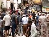 Video : Building Collapses In Delhi's Sabzi Mandi Area, Rescue Ops Underway