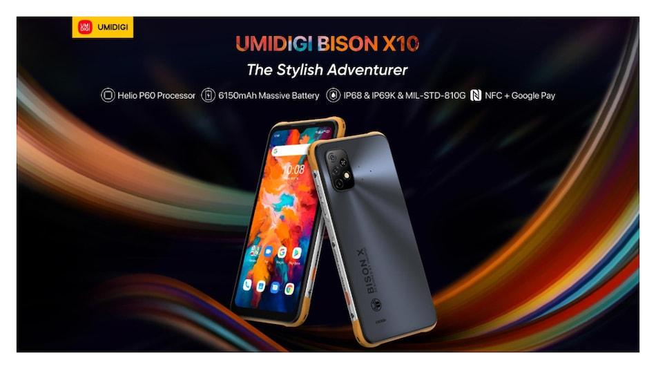 6,150mAh बैटरी के साथ Umidigi Bison X10 स्मार्टफोन सीरीज़ लॉन्च, जानें कीमत
