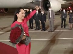 China's Hero's Welcome For Huawei Executive After 3-Year Canada Detention
