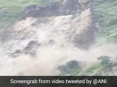 Watch: Landslide In Shimla District Blocks Key Highway