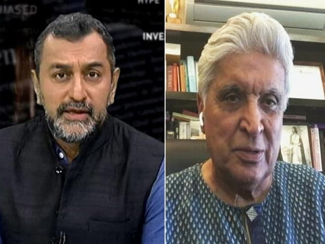 Video : The Idea Of Taliban Can't Appeal To Any Indian, Says Lyricist Javed Akhtar