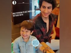 """""""The Only Person"""" Ibrahim Ali Khan Would Get Matching Tattoos With - Brother Taimur"""