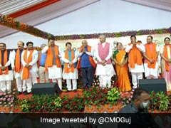 Newly-Appointed Gujarat Ministers Take Charge