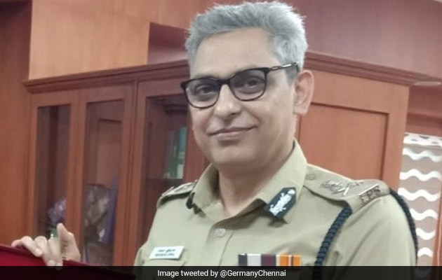 Chennai Top Cop Hospitalised Following 'Acute' Chest Pain