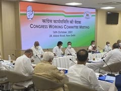 Elections For Congress Chief To Be Held By Next September: Sources