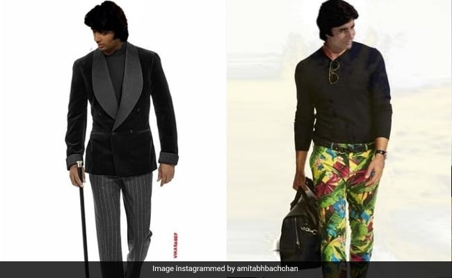Amitabh Bachchan shared a throwback photo of his modeling era, seeing the fans said – not only this people are crazy about you