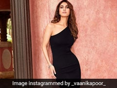 Vaani Kapoor In A Black Midi Dress Gives Us The Most Convincing Reason To Add One To Our Closet