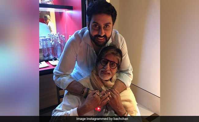 'The Perfect Role Model': To Amitabh Bachchan On His Birthday, With Love From Son Abhishek