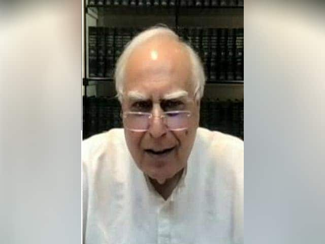 Video : Congress Leader Kapil Sibal Questions Police Probe In UP Violence Case