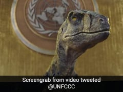 When A Dinosaur Talked To Humans: UN Ad To Guard Against Extinction