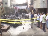 Video : 20 Motorcycles Burnt In Fire At Residential Society In Mumbai