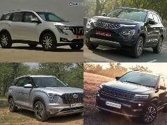Mahindra XUV700 vs Tata Safari vs Hyundai Alcazar vs MG Hector Plus vs Jeep Compass: Price Comparison