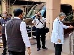 Health Minister Visits Manmohan Singh At Delhi's AIIMS