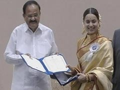 National Awards: Kangana Ranaut, Dhanush And Manoj Bajpayee Receive Their Prizes