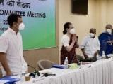 "Video : ""I Am Full-Time President"": Sonia Gandhi To 'G-23' At Key Congress Meet"