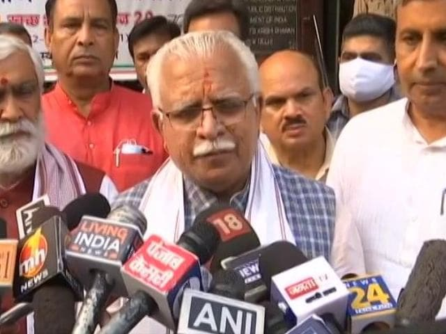 Video : Haryana Will Buy Paddy From Tomorrow, Says Chief Minister Amid Protests