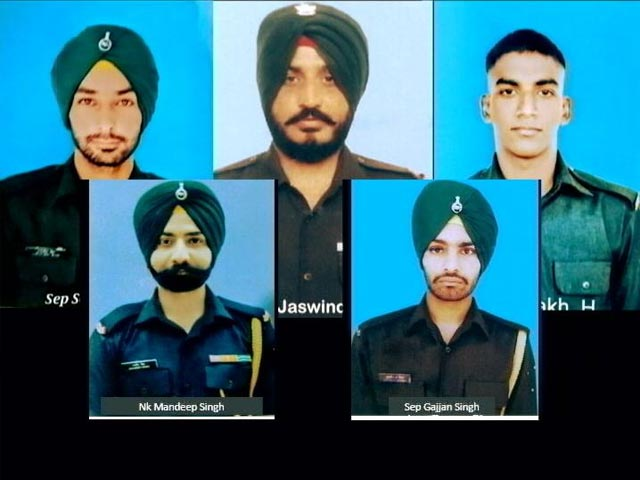Video : Army Officer, 4 Soldiers Killed In Line Of Duty In Jammu And Kashmir