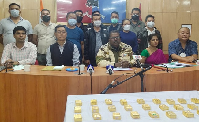Gold, Drugs Worth Rs 29 Crore Seized In Nagaland, 9 Arrested