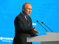 """President Vladimir Putin Says Talk Of His Successor """"Destabilises"""" Russia"""