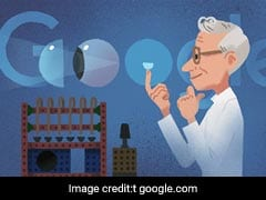 Google Honours Czech Chemist Otto Wichterle Who Invented Soft Contact Lens With A Doodle