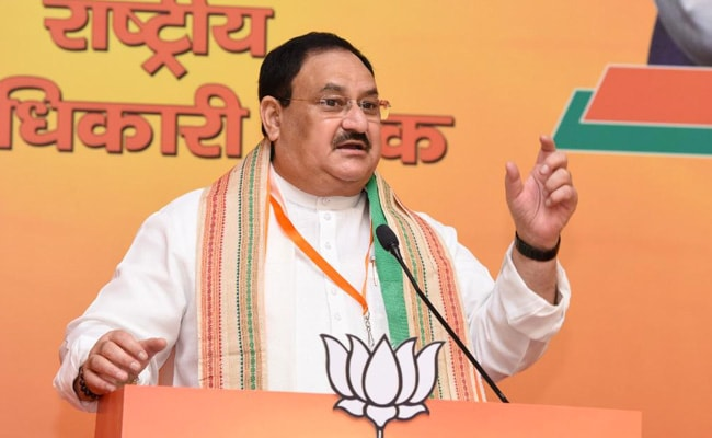 PM Modi Trusted Scientists, But Opposition…: BJP Chief On 100 Crore Vaccines