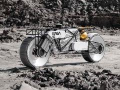 Tardigrade Custom-Built Moon Rover Motorcycle Unveiled