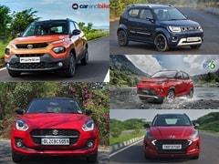 Tata Punch vs Maruti Suzuki Swift vs Hyundai Grand i10 Nios vs Mahindra KUV100 vs Maruti Ignis: Price Comparison
