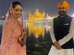Yami Gautam Visits Golden Temple With Husband Aditya Dhar