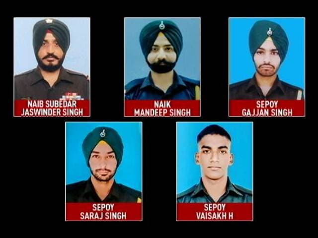 Video : 5 Soldiers Killed In Action: In Punjab Villages, Families Mourn
