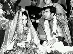 "A Rare Pic From Sharmila Tagore And Mansoor Ali Khan Pataudi's ""Royal Wedding"""