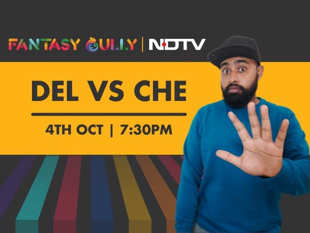 Videos : DC vs CSK, Delhi vs Chennai फैंटेसी टिप्स और प्रिडिक्शंस | Fantasy Gully