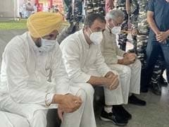 """""""Not In Your Car"""": The Stand-Off And Drama After Rahul Gandhi Landed"""