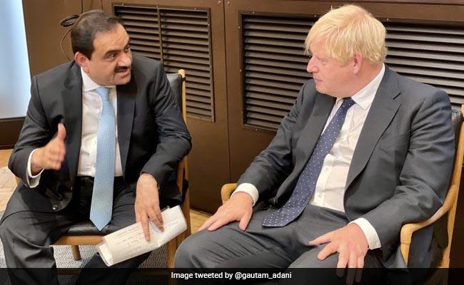 Gautam Adani Meets Boris Johnson, Assures To Commit Billion For Clean Energy