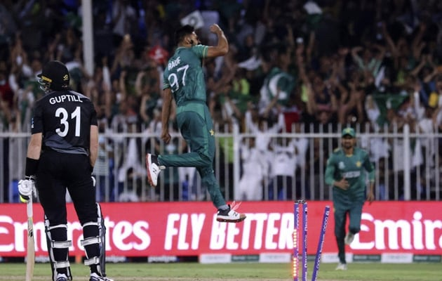 T20 WC: Haris Rauf Shines As Pakistan Defeat New Zealand By 5 Wickets