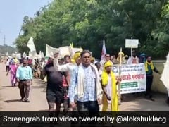 Tribals, Forest-Dwellers March 300Km To Protest Coal Mining Projects In Chhattisgarh