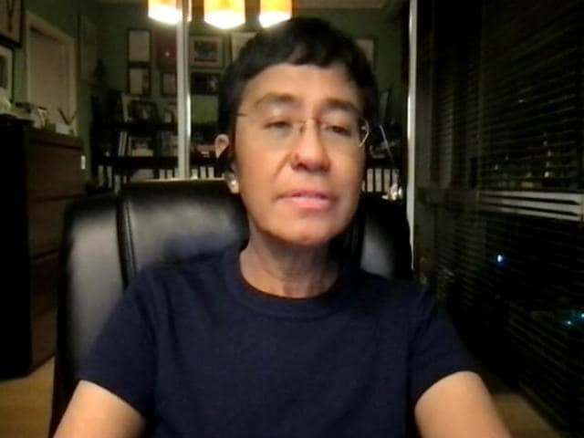 Video : Without Facts, No Truth, No Democracy: Nobel Peace Winner Maria Ressa To NDTV