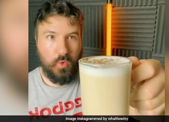 Watch: Man Makes Coffee With Fries, Pizza And More - Want To Give It A Try?