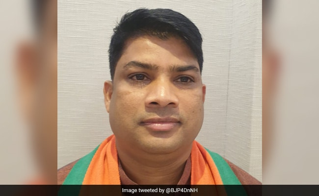 The BJP is fielding a young face, Mahesh Kavit, for the Dadra and Nagar Haveli by-elections