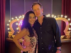 """Pic From Preity Zinta's """"Night Out"""" With Husband Gene In Dubai"""